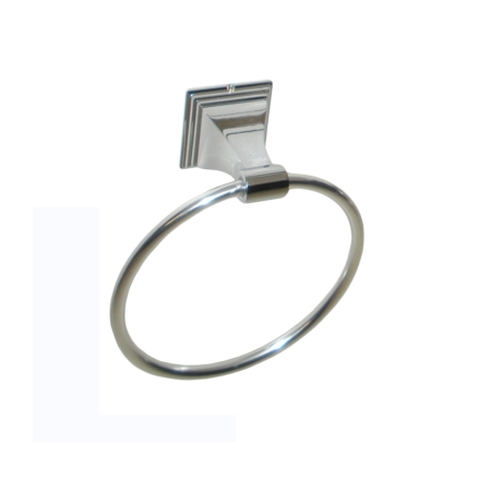 ARISTA® Leonard Collection Towel Ring in Chrome