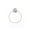 ARISTA® Highlander Collection Towel Ring in Satin Chrome