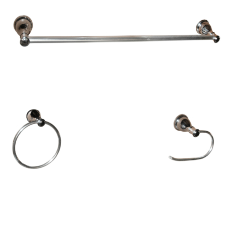 ARISTA® Castilla Collection 3pc Set in Chrome