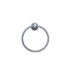 ARISTA® Castilla Collection Towel Ring in Satin Nickel