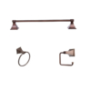ARISTA® Leonard Collection 3pc Set in Oil-Rubbed Bronze