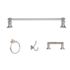 ARISTA® Highlander Collection 4pc Set in Satin Nickel