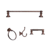 ARISTA® Highlander Collection 4pc Set in Oil Rubbed Bronze