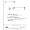 "ARISTA Bath Distribution Belding Series 18"" Towel Bar"