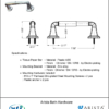 ARISTA Bath Distribution Belding Series TP Holder