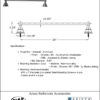 "ARISTA Bath Distribution Summit Series 24"" Towel Bar"