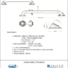 ARISTA Bath Distribution Decorative Grab Bar Style 3 Spec Sheet