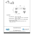 ARISTA Bath Distribution Highlander Series TP Holder